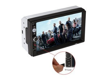 7 inch HD 2 DIN Car Stereo MP3 MP5 Player Bluetooth Touch Radio USB/TF/FM