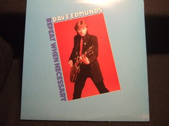 LP - DAVE EDMUNDS. Repeat when innicent. 1979