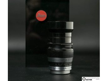Leitz Hektor 73mm f1.9 Black-Chrome  Screw-Mount  Collectable Item