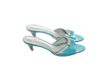 Lyn, Pumps, Strl: 36, Turkos