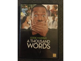 A thousand words Eddie Murphy Dvd