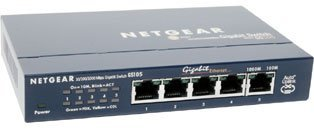 Switch Netgear 5p 1000T ProSafe GS105GE