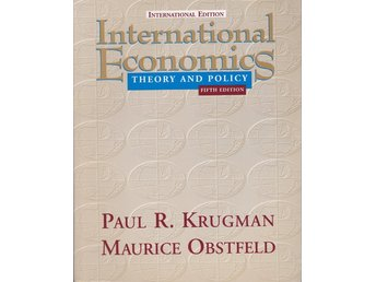 International Economics - Theory and Policy (På engelska)