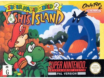Super Mario World 2: Yoshis Island  - Super Nintendo