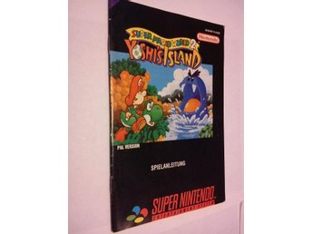 SNES: Super Mario World 2: Yoshi's Island (Manual - Tysk)