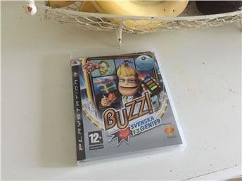 Svenska Genier Buzz Komplett med Manual PS3