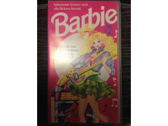 BARBIE VHS BARBIE OCH HENNES ROCKBAND THE ROCKERS - Järfälla - BARBIE VHS BARBIE OCH HENNES ROCKBAND THE ROCKERS - Järfälla
