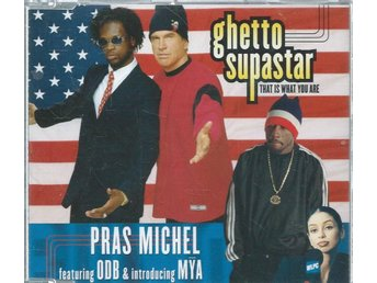 GHETTO SUPASTAR - THAT IS WHAT YOU ARE   (CD MAXI/SINGLE )