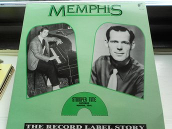 RECORD-SALE SOMMAR-REA! LP MEMPHIS THE RECORD LABEL STORY STOMPER TIME RECORDS