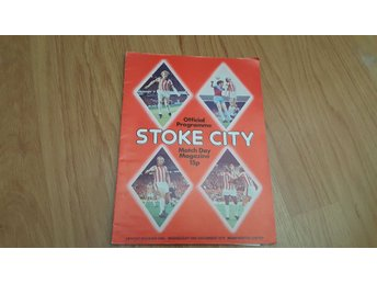 Program Stoke City v Manchester United 1976