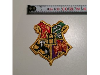 Harry Potter tygmärke (patch) broderad