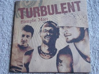 Turbulent - Simple man, 2tr CDS - Ny!