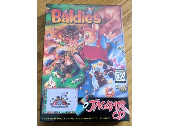 Baldies  Atari Jaguar CD Spel Nytt
