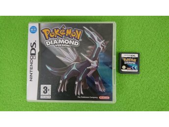 Pokemon Diamond Version SVENSK Nintendo DS