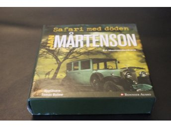 CD-bok: Safari med döden - Jan Mårtensson