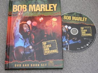 Bob Marley - Up Close and Personal DVD and Book Set (Engelska)
