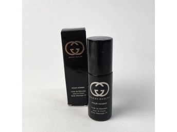 Gucci Guilty, Massageolja, Pour Homme, 8 ml, Svart