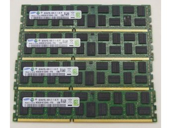 80 GB Samsung DDR3 minnen (10x 8 GB )