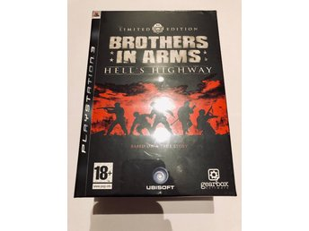 Unik samlarutgåva - helt ny- Brothers in arms Hells highway collectors edition