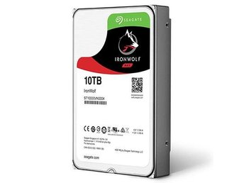 "Seagate IronWolf Nas HDD 3,5"" 10TB, 256MB, 7200RPM"