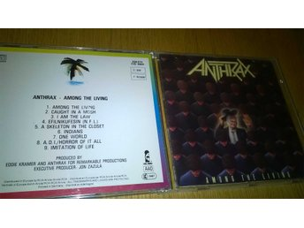 Anthrax - Among The Living, CD