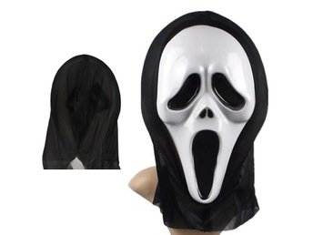 Scary Ghost Devil Face Mask Fancy Halloween Party