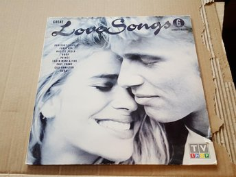 Great love songs vol 4 & 6    2 st dubbel LP