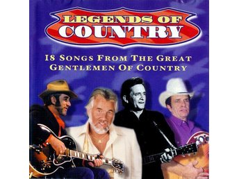 Legends Of Country: 18 Songs From The Great Gentlemen Of Country - CD