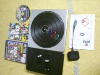 DJ HERO,KOMPLETT MED SPEL,PLAYSTATION 2 - Fällfors - DJ HERO,KOMPLETT MED SPEL,PLAYSTATION 2 - Fällfors