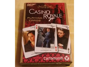 Kortlek James Bond  Casino Royale Daniel Craig