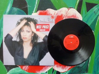 JENNIFER RUSH, INTERNATIONAL VERSION, LP, MADONNA´S EYES, LP-SKIVA