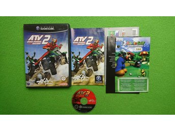 ATV Quad Power Racing 2 KOMPLETT Nintendo Game Cube