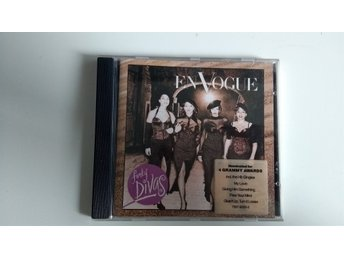 CD-album En Vogue Funky Divas 1992.
