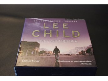CD-bok: Inget att förlora - Lee Child