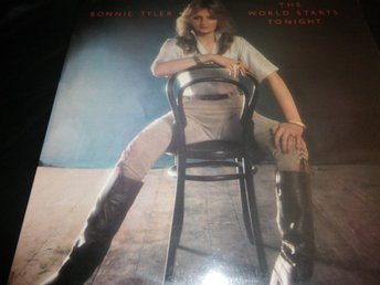 bonnie tyler the world starts tonight lp