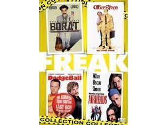 Freak Collection (4-disc)-Borat, Office Space, Dodge Ball och Airheads..