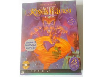 PC CD Big Box Kings Quest VII 7 Sierra
