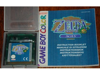 The Legend of Zelda - Oracle of Ages, Game Boy