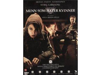 Män Som Hatar Kvinnor - 2008 - DVD - Slip Case - Norwegian Edition - Bålsta - Män Som Hatar Kvinnor - 2008 - DVD - Slip Case - Norwegian Edition - Bålsta