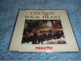 Roxette - Church Of Your Heart (CD-maxi) 4 trk 1992 NM Toppskick!!