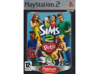 The Sims 2: Pets - Platinum - Playstation 2 - Varberg - The Sims 2: Pets - Platinum - Playstation 2 - Varberg