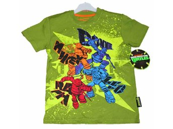 T-SHIRT TURTLES 92/98 Ord pris 199.00:-