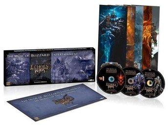 Echoes Of War Blizzard Entertainment Warcraft Diablo Starcraft * NY  OÄPPNAD *