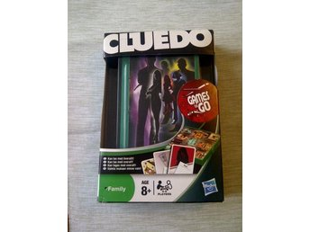 Cluedo Hasbro-Parker reseversion Games to Go