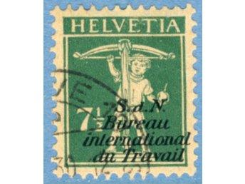 Int. arbetsorg. (BIT/ILO) 1927 M27 stämplad (ST22 - Varberg - Int. arbetsorg. (BIT/ILO) 1927 M27 stämplad (ST22 - Varberg