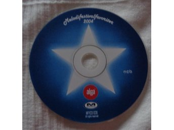CD SKIVA MELODIFESTIVALEN FAVORITER 2004 FINT SKICK !!