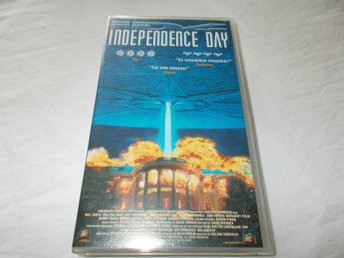 Independence Day VHS PAL Svensk text science fiction 1996 USA