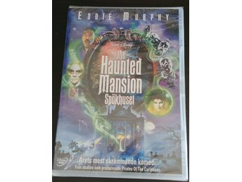 Disney - Spökhuset - The Haunted Mansion  (Eddie Murpey) 2003 - DVD NY