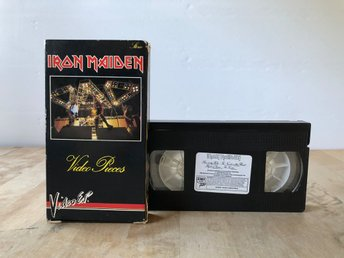 Iron Maiden - Video Pieces - Video EP - VHS