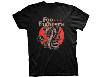 Foo Fighters - Snake T-Shirt Extra-Large